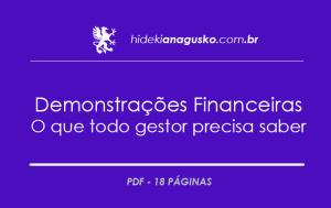Demonstrações Financeiras - O que todo gestor precisa saber