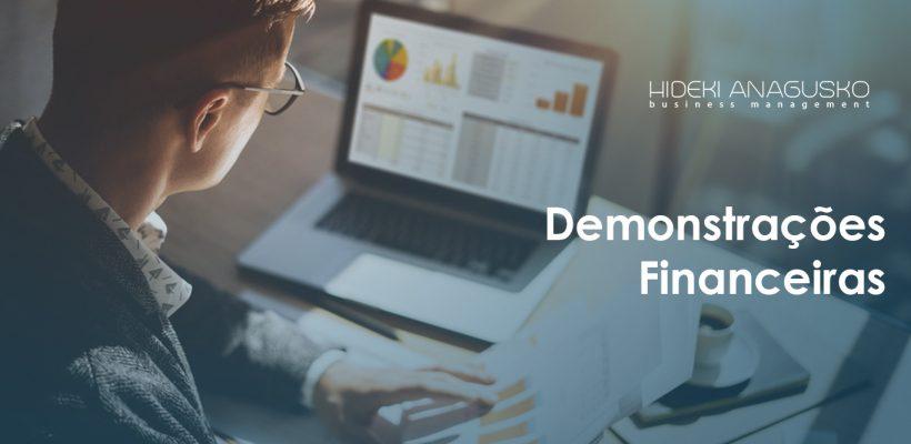 Capa HDK serviço demonstrações financeiras